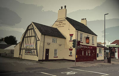 The Corner Pin Public House In, The Gable-end Visible Here Poster by Litz Collection