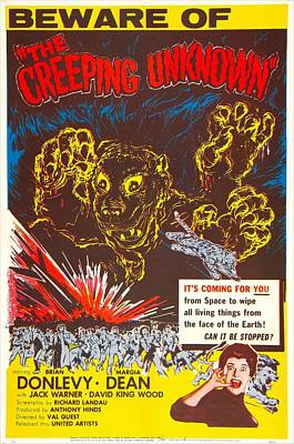 The Creeping Unknown, Aka Quatermass Poster by Everett