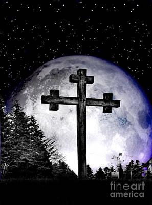 The Cross Poster by Nina Ficur Feenan
