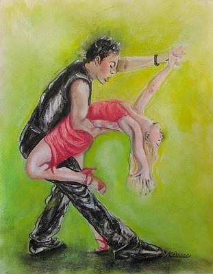 The Dance Poster by Carol Allen Anfinsen