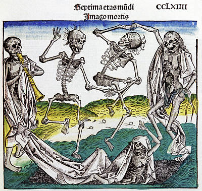 The Dance Of Death Poster by Cci Archives