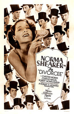 The Divorcee, Robert Montgomery Poster by Everett