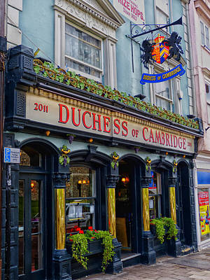 The Duchess Of Cambridge Pub - Windsor England Poster by Mountain Dreams