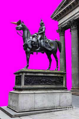 The Duke Of Wellington Cyan Poster by John Farnan