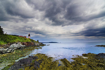 The Eastern Most Point In The U.s.a  Poster by Mircea Costina Photography