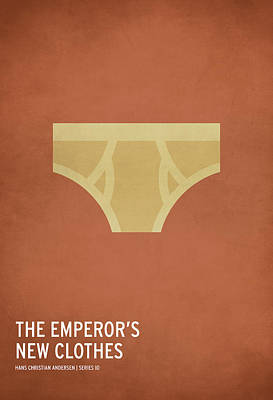The Emperor's New Clothes Poster by Christian Jackson