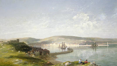 The Estuary Poster by James Francis Danby