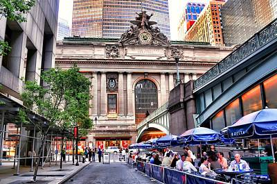 The Face Of Grand Central Terminal Poster by Diana Angstadt