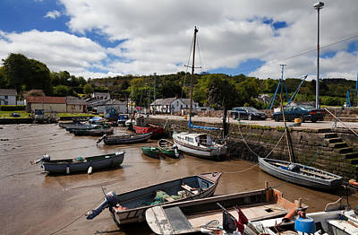The Fishing Harbour At Cheekpoint Poster by Panoramic Images
