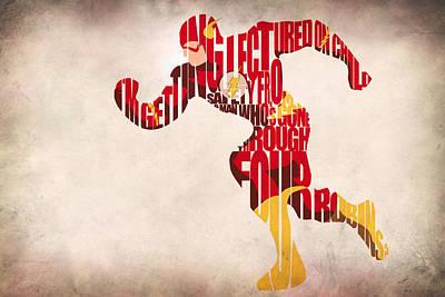 The Flash Poster by Ayse Deniz