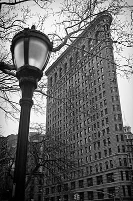 The Flatiron Building In New York City Poster by Ilker Goksen