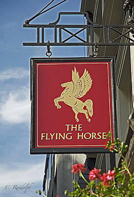 The Flying Horse Poster by Cheri Randolph