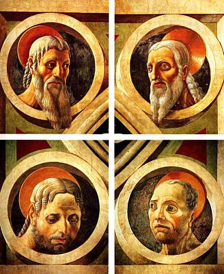 The Four Evangelists Poster by Paolo Uccello