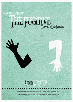 The Fugitive Poster by Ayse Deniz