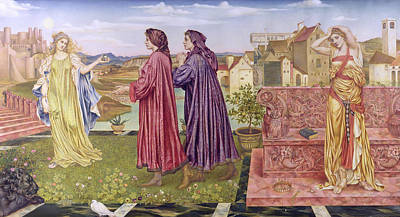 The Garden Of Opportunity Poster by Evelyn De Morgan