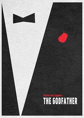 The Godfather Poster by Ayse Deniz