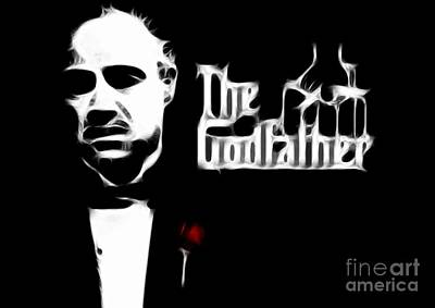 The Godfather Poster by Doc Braham