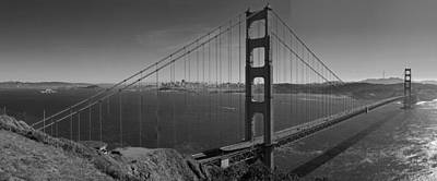 The Golden Gate Bridge Poster by Twenty Two North Photography