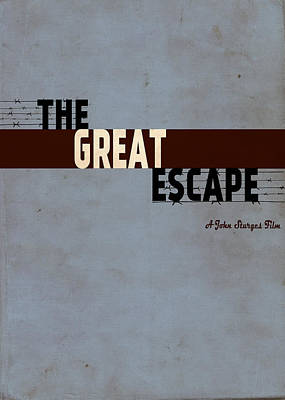 The Great Escape Poster by Ayse Deniz