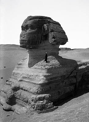 The Great Sphinx Of Egypt  1900 Poster by Daniel Hagerman