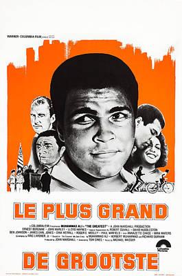 The Greatest, Belgian Poster Art Poster by Everett