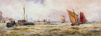 The Harbor Poster by Thomas Hardy