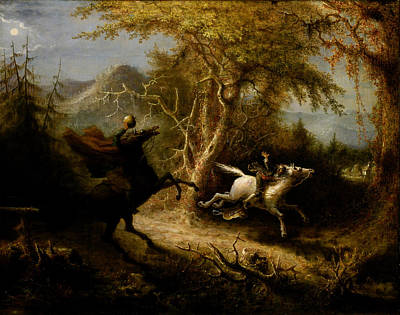 The Headless Horseman Poster by Celestial Images