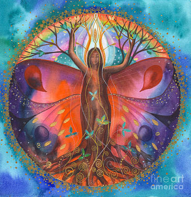 The Healing Tree Poster by Kate Bedell