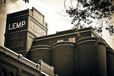 The Historic Lemp Brewery Poster by Kristy Creighton
