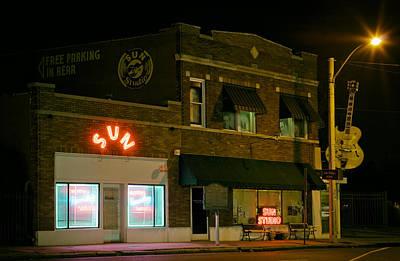 The Historic Sun Record Studio In Memphis Poster by Mountain Dreams