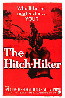 The Hitch-hiker, Frank Lovejoy, Edmond Poster by Everett