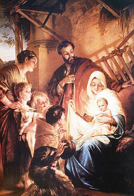 The Holy Family Poster by Unknown