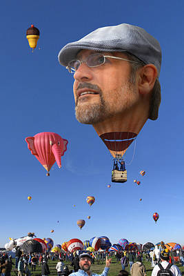 The Hot Air Surprise Poster by Mike McGlothlen
