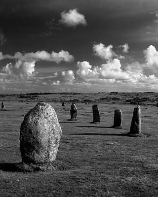 The Hurlers Stone Circle Poster by Darren Galpin