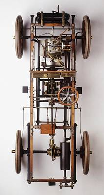 The Innards Of A 1904 Automobile Poster by Dorling Kindersley/uig