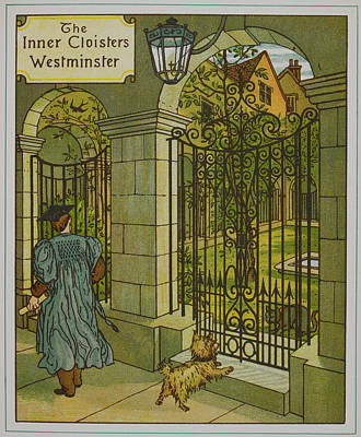 The Inner Cloisters Poster by British Library
