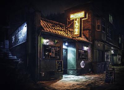 The Jazz Estate Nightclub Poster by Scott Norris