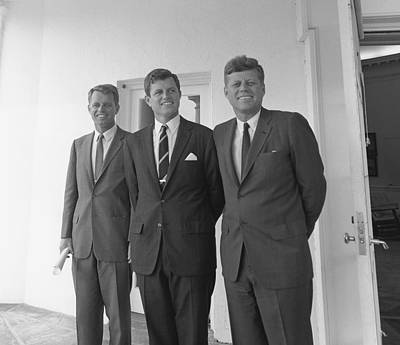 The Kennedy Brothers Poster by War Is Hell Store