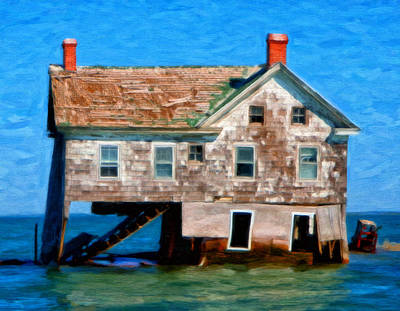 The Last House On Holland Island Poster by Michael Pickett