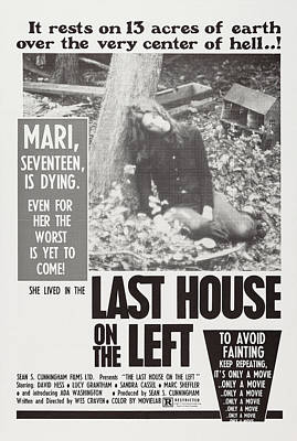 The Last House On The Left, Us Poster Poster by Everett
