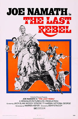 The Last Rebel, Us Poster, Woody Strode Poster by Everett