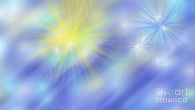 The Light Season Poster by Rosana Ortiz