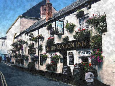 The London Inn Pub Poster by Kurt Van Wagner