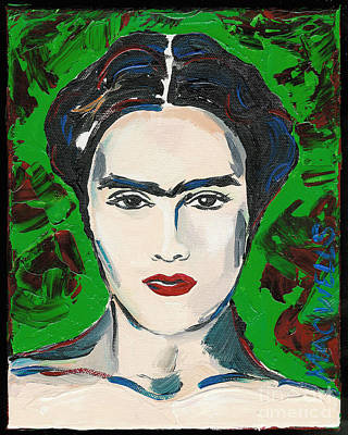 The Lovely Frida Kahlo Poster by Mary C Wells