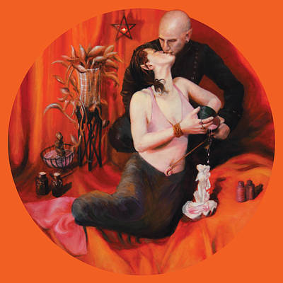 The Lovers Poster by Shelley Irish