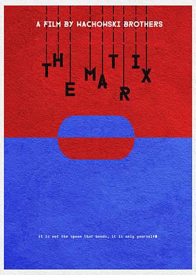 The Matrix Poster by Ayse Deniz