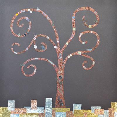 The Menoa Tree Poster by Angelina Vick