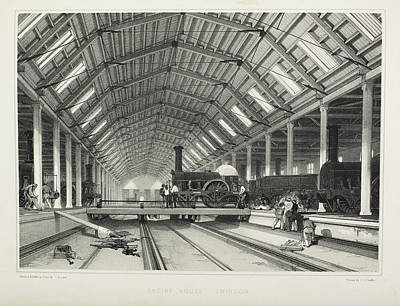 The Midland Railway Poster by British Library