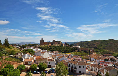 The Moorish Built Alcazaba Castle Poster by Panoramic Images