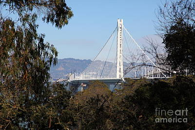 The New And The Old Bay Bridge San Francisco Oakland California 5d25398 Poster by Wingsdomain Art and Photography